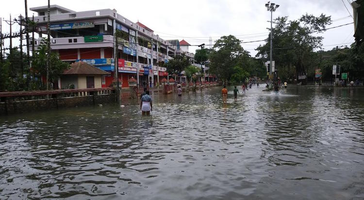 Kerala in the grip of flood for the third consecut