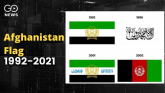7th Flag Change in 30 Yrs For Afghanistan