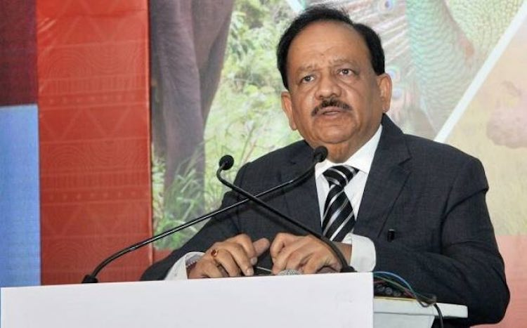 Union Minister Dr. Harsh Vardhan came forward to h