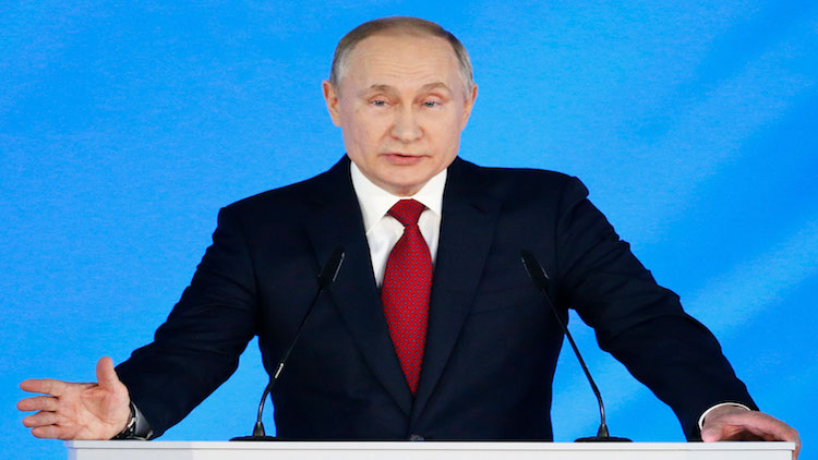 Russian Government Resigns After President Putin's