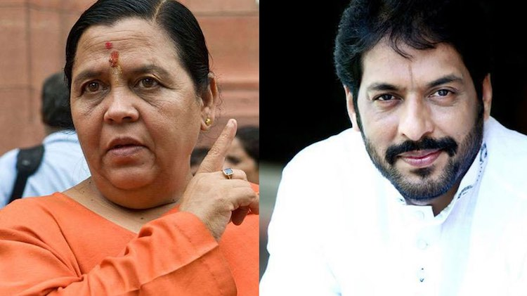 Upset in BJP over Gopal Kanda, Uma Bharti opens fr