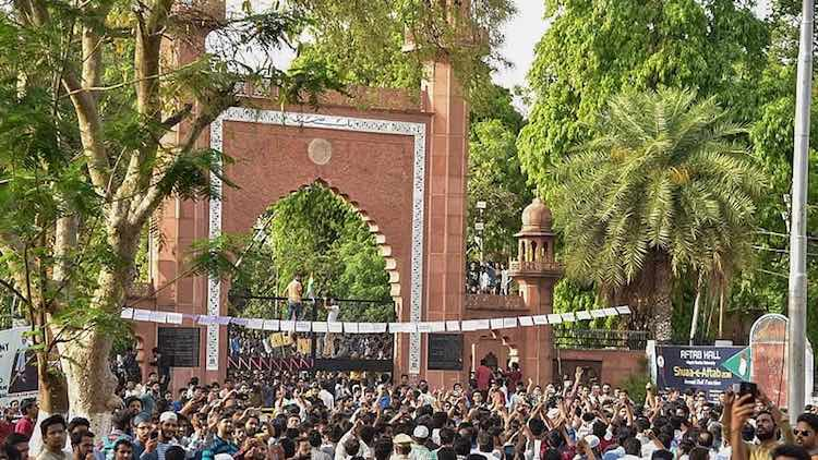 CAA Protests: FIR Against 10,000 AMU Students