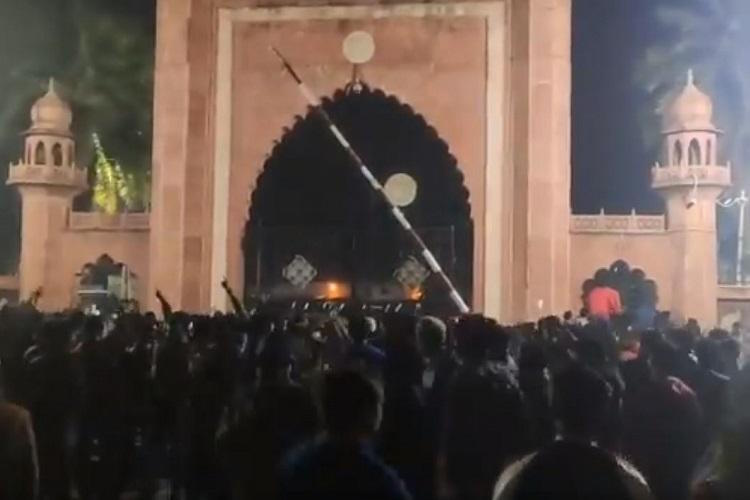 AMU Intertudents Action Released, Now FIR on 10,00