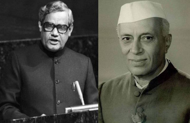 After Nehru's death, Vajpayee's tribute speech in