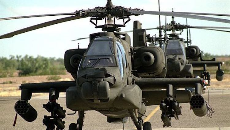 IAF's New Apache Helicopter Makes Emergency Landin