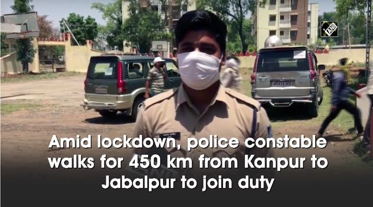 COVID-19 Lockdown: Constable Walks 450 km To Join