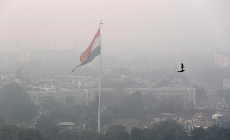 Delhi / NCR becomes gas chamber, 12 times more poi