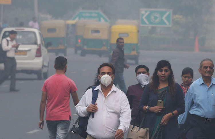 Delhi's wind to fall again, PM 2.5 level is beyond