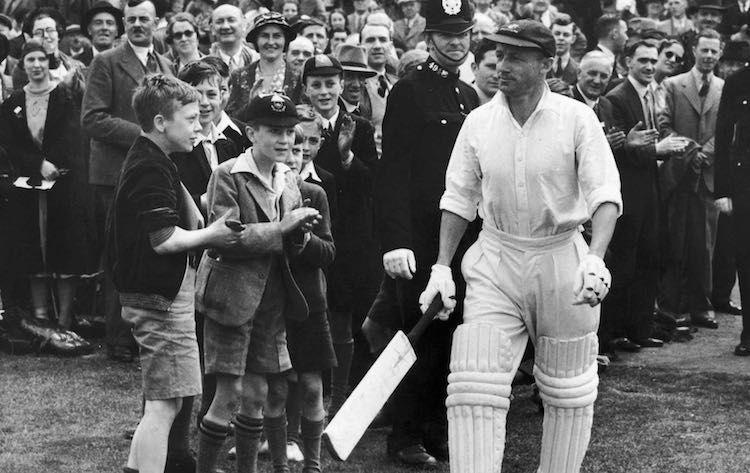 Sir Don Bradman's last test innings