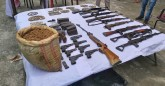 Third major success, weapons found in Assam again