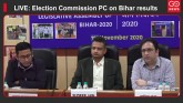 LIVE: Election Commission Press Conference on Biha