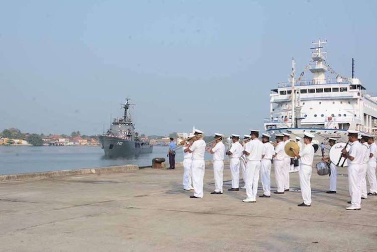 Seven navy personnel and one hawala businessman ar
