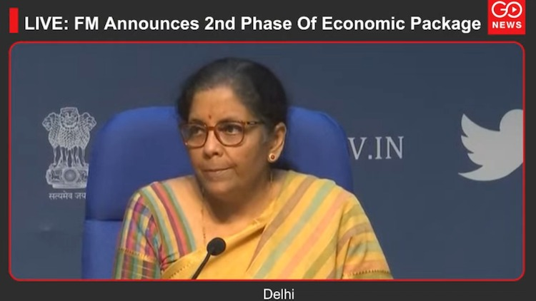 Live: FM Announces 2nd Phase Of Economic Package