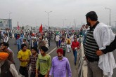 For three weeks, the farmers' movement has continu
