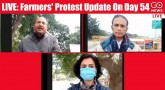 LIVE: Farmers' Protest Update On Day 54