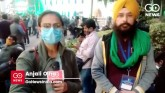 Farmers ate langar at Vigyan Bhavan in a meeting w