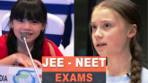 Licypriya and Greta also join to postpone NEET and