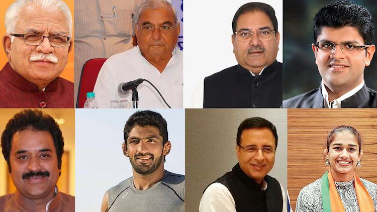 Top Contenders In Haryana Assembly Elections