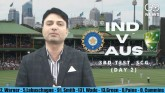 3rd IND v AUS Day 2: India trail by 242 runs