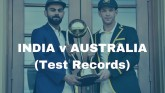 India vs Australia, glance at a test record