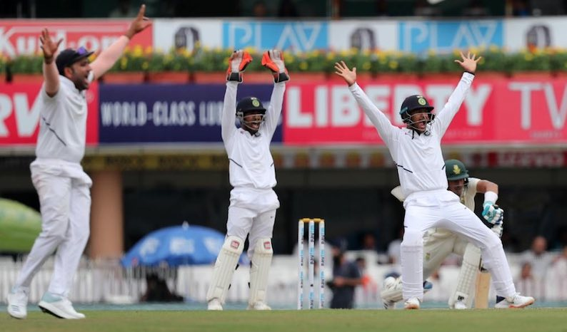 Cricket: India Crush S.Africa In Ranchi Test, Swee