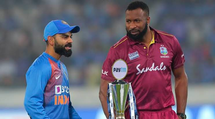India vs West Indies Second T20I