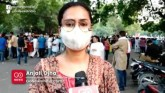 Hathras case: demonstration at Jantar Mantar in De