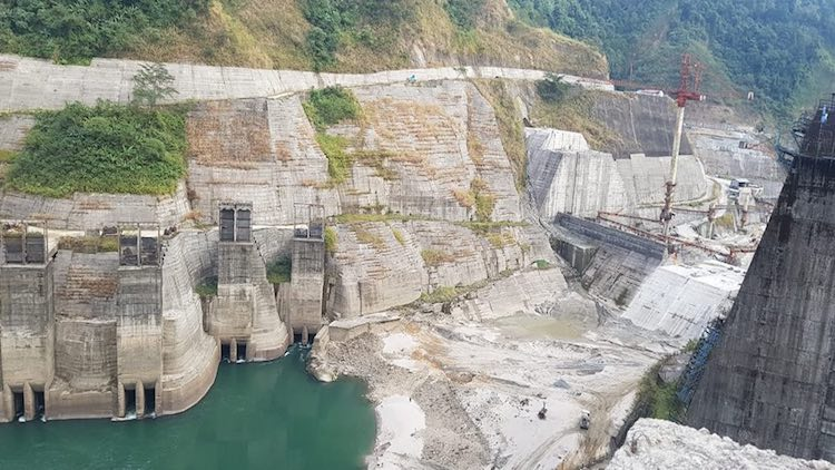 Mega Hydel Project In Himalayas Steamrolls Objecti