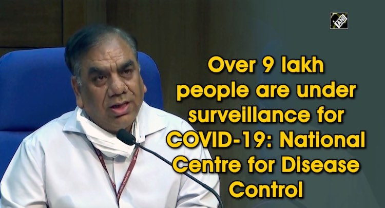 COVID-19: Over 9 Lakh People Under Surveillance