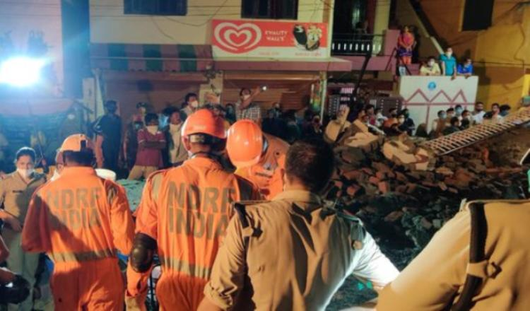 Building collapses in Dehradun after incessant rai