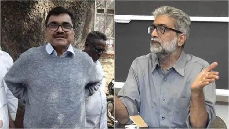 Anand Teltumbde, Gautam Navlakha Surrender Before