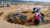 MP: Sand Mafia Attacks Police Personnel, 3 Injured