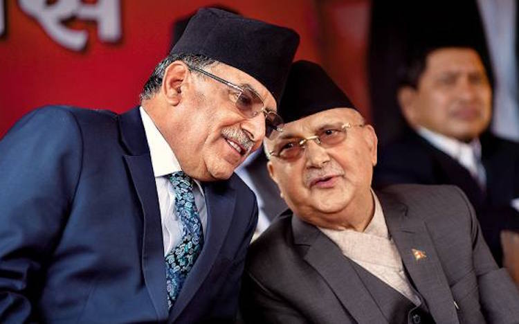 Oli and Prachanda Commission fight to capture NCP,