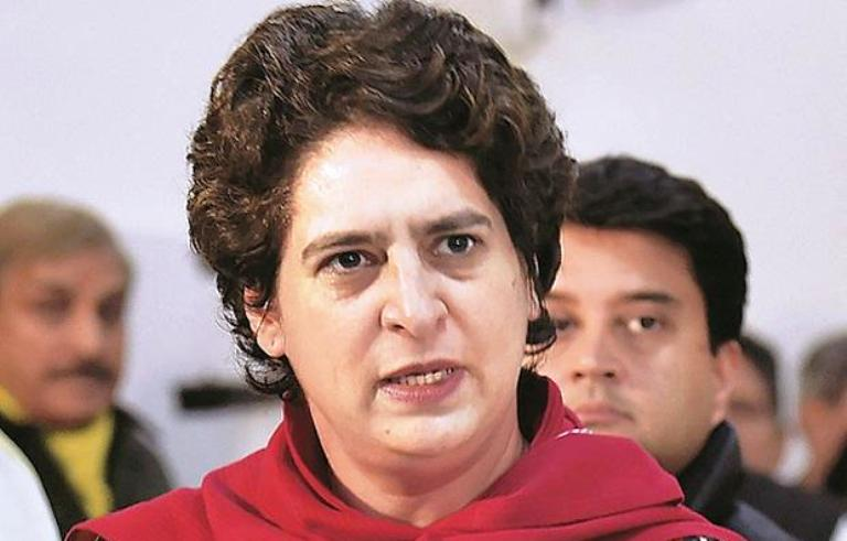 Priyanka Gandhi attacks CM Yogi, said- Our traditi