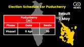Puducherry elections: Assembly elections will be h