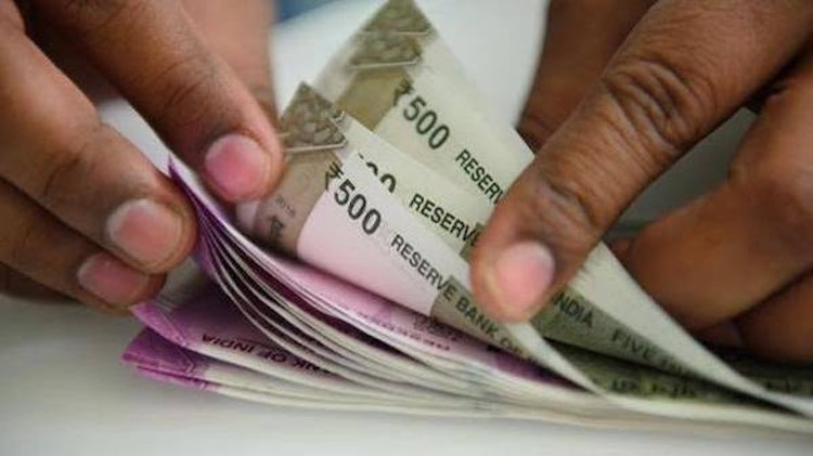 Purchase of rupees in London forex market increase