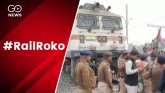 #RailRoko: JAP workers stopped trains in Ara, Patn