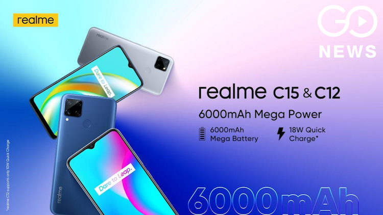Realme C12 and Realme C15 come with powerful batte