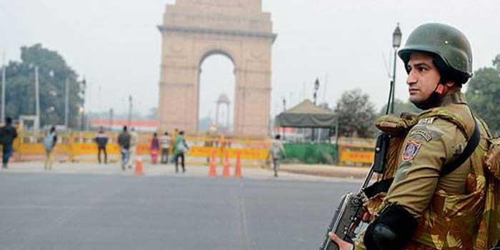 Heavy Security Ahead Of Republic Day