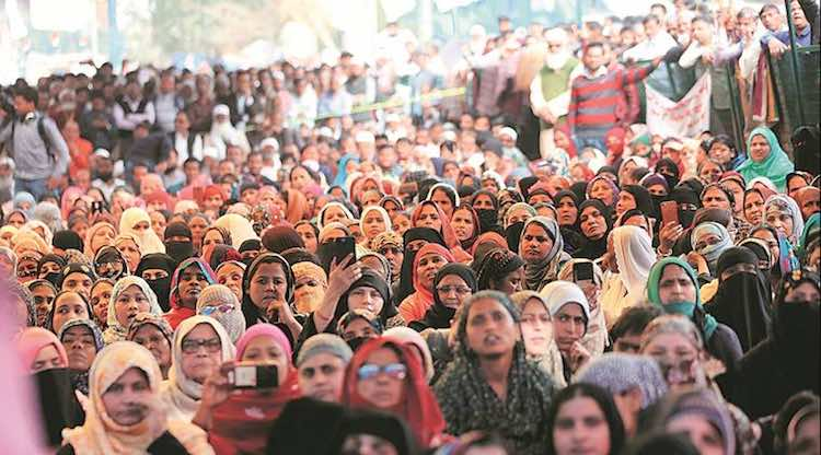 SHAHEEN BAGH DEFIES MASS GATHERING HEALTH ADVISORY