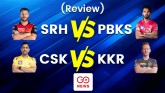 IPL 2021: PBKS vs SRH and KKR vs CSK, see match re