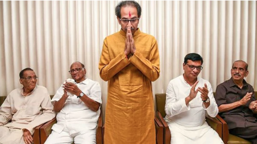 Stage Set For Uddhav Thackeray To Take Oath As CM