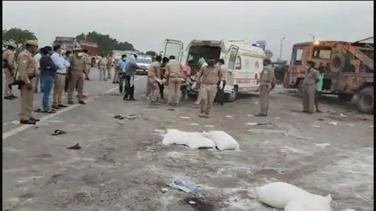 24 Migrants Killed In Auraiya Road Accident, Akhil