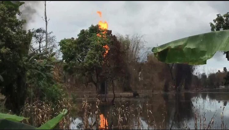 Tinsukia: Fire Continues To Rage In Assam Gas Well
