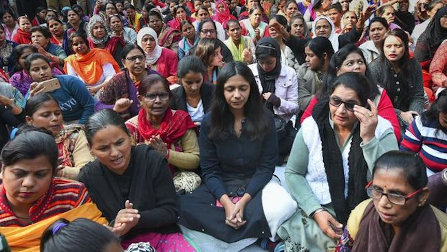 Hyderabad Rape Case Hunger Strike