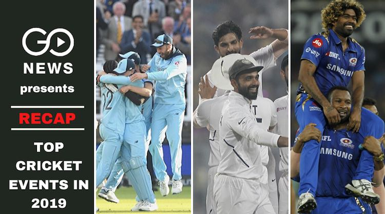 Recap cricket 2019