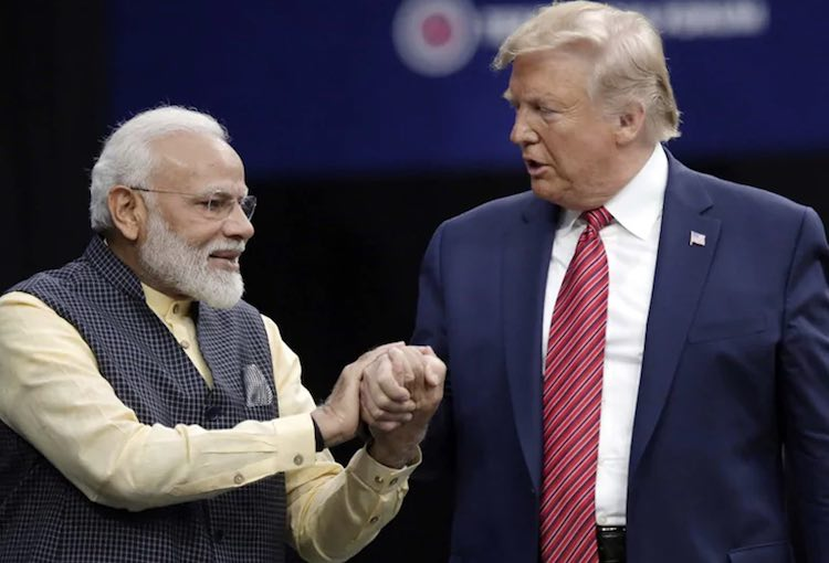 White House: President Trump and PM Modi will also