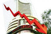 Heavy fall in stock market, Sensex down 839 points