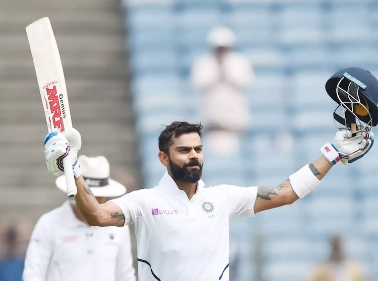 Virat hit 26th century in Pune Test, surpassing Ga