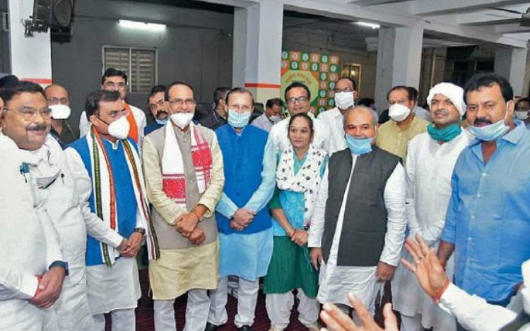 MP: SP, BSP And Independent MLAs Switch To BJP Bef